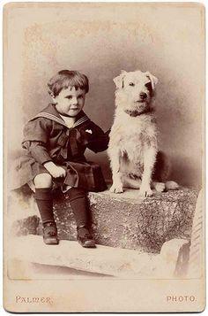 sweet boy sweet dog by Libby Hall Dog Photo, via Flickr