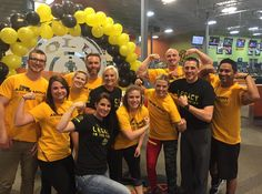 Our Gold's Gym Grand Junction Crew suited up for the 2015 12 Week Challenge! 12 Week Challenge, Gold's Gym, Challenges