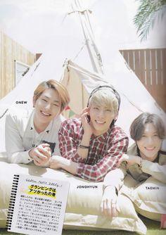 Onew, Jonghyun, and Taemin Seek Magazine Vol. 4 2014