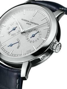TimeZone : Industry News » N E W M o d e l - Vacheron Constantin Platinum Traditionnelle Date-Day and Power Reserve
