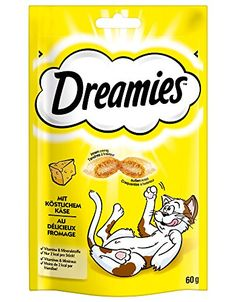 Dreamies Cat Treats 60G Cheese ** Details can be found by clicking on the image.