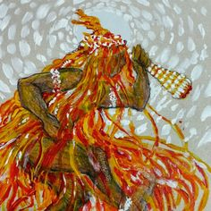 Raphaela Corsi on Behance   #Obaluaê  #Orisha #Orixá #Xapanã #Omolú #Umbanda #Candomblé #Axé
