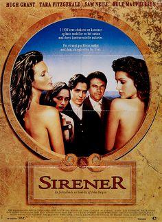 Dansk plakat fra den Australske film, Sirener.