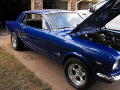 1965 Ford Mustang....looks just like ours'.........