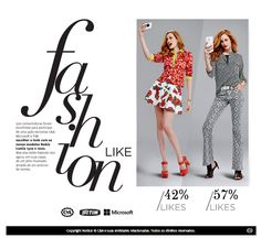 flavia schwab: Inovação fashion:: anúncio like!