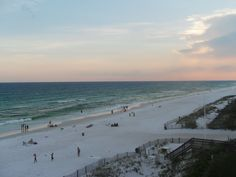 My pic of the sunset in Destin, Florida. Gorgeous. <3
