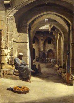 Joseph Farquharson DL (İskoç, 1846-1935) 'Turuncu Satıcı', 1893