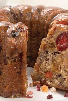 Butter-Rum Walnut Cake  Recipe