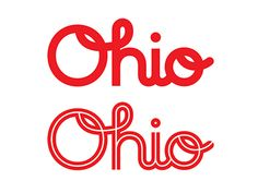 Dribbble - Ohio by Tim Frame
