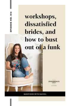 Workshops, Dissatisfied Brides, and How to Bust out of a Funk with Jessica Zimmerman. What do women's cycles, floral workshops, and Frozen 2 have in common? They're all topics of questions from this episode of the Zimmerman Podcast. We discussed the logistics and finances behind wedding, floral and business workshops, what happens when a bride leaves a bad review, and how to be productive when you don't feel motivated.  #zimmermanpodcast #businesstips #productivity #motivation Housewives Of New York, Zimmerman, Maternity Photographer, Photography Business, Getting Things Done, Kids And Parenting, Business Tips, Productivity, The Creator