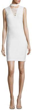 Bailey 44 El Caiman Lace-Up Choker Dress