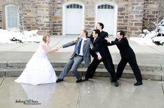 Fun wedding pose!  Mekenzi Anne Photography. Nothern Utah Photographer.