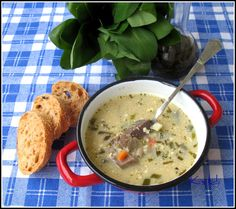 Cheeseburger Chowder, Oatmeal, Soup, Breakfast, The Oatmeal, Morning Coffee, Rolled Oats, Soups, Overnight Oatmeal