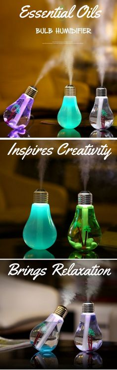 Enjoy the benefits of aromatherapy with this awesome diffuser. Designed to inspire. The light bulb has always been a symbol for intelligence and creativity!  As always grab it today with free shipping. https://essentialoildiffuser.us/collections/all