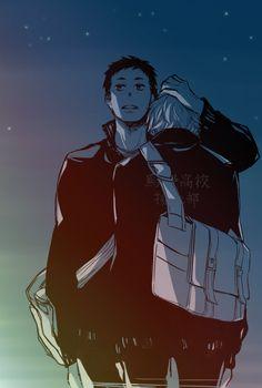 Haikyuu!! - Daichi Sawamura x Koushi Sugawara - DaiSuga