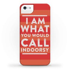 A phone case that makes a bold statement of self:   25 Delightfully Cozy Gifts For Anyone Who Hates Leaving The House