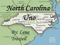 A Uno type game about North Carolina. Good for review of North Carolina facts for 4th grade!