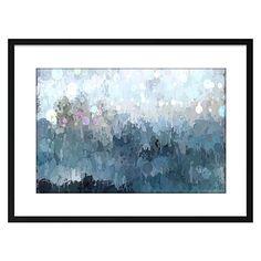 Snow Showers Framed Print by Alisa & Lysandra for United Artworks   Zanui