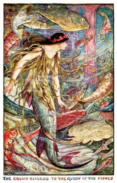 Illustration as it used to be... - 'The Orange Fairy Book' by Andrew Lang;...
