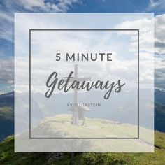 Need a break? Take 5 minutes to transport yourself to these amazing places. Bad Gastein, Need A Break, Amazing Places, The Good Place, Place Cards, Blog, Place Card Holders, Places