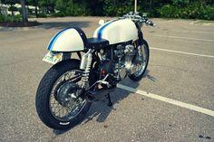 Honda CB550 by Steel Bent Customs - (can i ???)