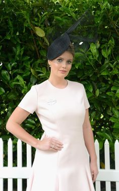 Lady Kitty Spencer Ascot Ladies Day 2016