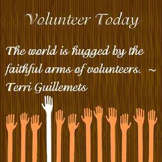 volunteer quote pics - Google Search