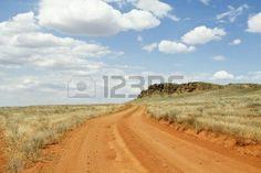 carretera del pa�s en los campos photo