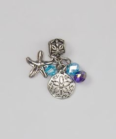 Another great find on #zulily! Blue Moon Beads® Blue Starfish Dangling Charm by Blue Moon Beads® #zulilyfinds