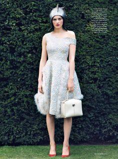 I Capture the Castle - Amber Anderson by Koto Bolofo for Harper's Bazaar UK July 2015