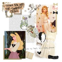 """Disney Girls Dream Cast: 2/50 Taylor Swift as Aurora"" by neverjudgeabookbyitsmovie ❤ liked on Polyvore featuring Oris, The Vatican Library Collection, AX Paris, Sonia Rykiel, American Apparel, taylor swift, 50 set disney girls dream cast challenge, sleeping beauty, disney and aurora"