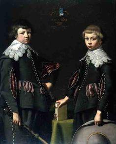 Dirck Dircksz van Santvoort - Portrait of Two Boys