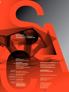 Beautiful poster for Städelschule Architecture Class — Part 1.