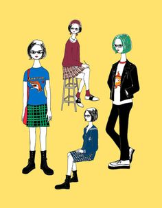 Find images and videos about ghost world, enid and enid coleslaw on We Heart It - the app to get lost in what you love. Bikini Kill, Awkward Girl, Ghost World, Inspirational Artwork, Love Fashion, Film Fashion, Fashion Ideas, Cute Art, Illustrations Posters