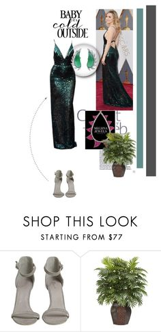 """""""Meghna Jewels !"""" by dianagrigoryan ❤ liked on Polyvore featuring Calvin Klein and Nearly Natural"""