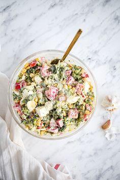 Pasta Salad, Feta, Salads, Lose Weight, Ethnic Recipes, Food, Crab Pasta Salad, Recipes, Salad