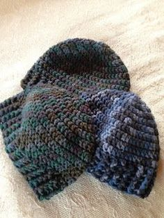 Crochet Obsession: Men's easy beanie crochet pattern