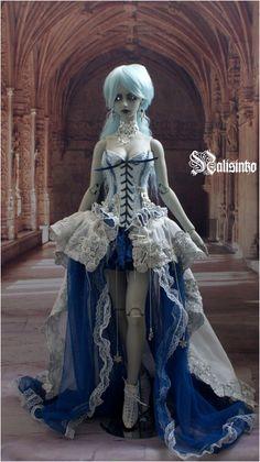 Ice Queen by nalisinko.deviantart.com on @deviantART