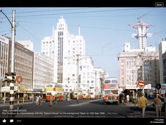 29 Beautiful Kodachrome Photos That Capture Street Scenes of Johannesburg, South Africa in the Late Johannesburg Skyline, Train Tour, New South, The Good Old Days, Capital City, Countries Of The World, Aerial View, Live, South Africa