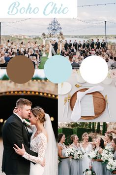 Such a chic and simple wedding palette! We're loving soft blues and wood details. Orlando Wedding Venues, Florida Wedding Venues, Central Florida, Orlando Florida, Tuscan Wedding, Wood Detail, Simple Weddings, Color Palettes, Perfect Wedding