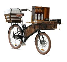 """Stolen Coffee and Spiced Rum"" ,Cargo Bike Bars, Miami,USA.......CHEERS"", pinned by Ton van der Veer"