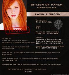 Lavinia ~ Capitol Files