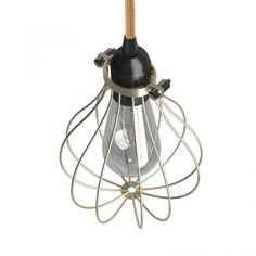The timeless charm of vintage lighting. The Naked light bulb cage lampshade Drop Black colored metal is inspired by industrial and steampunk atmospheres. Steampunk Bedroom, Steampunk Interior, Ampoule Design, Cage, Black Ceiling, Copper Metal, Vintage Lighting, Drop, Lampshades