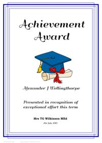 free awards certificates for elementary students | Teaching ...
