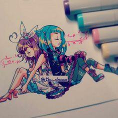 Girls/Purple&LightBlue