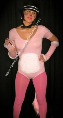 Pink Panther costume - hope my pinks end up matching better than these