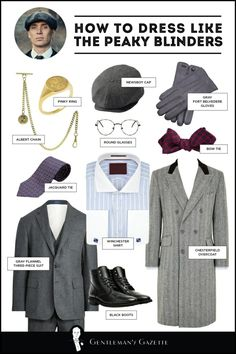 Gentleman style 833377106031272203 - Peaky Blinders Style, Suits & Clothing + How To Dress Like Them — Gentleman's Gazette Source by Costume Peaky Blinders, Peaky Blinders Clothing, Traje Peaky Blinders, Peaky Blinders Merchandise, Peaky Blinders Dress, Tweed Suits, Mens Suits, Peaky Blinders Style Suit, Estilo Gangster