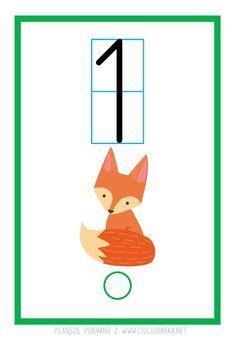 Plansze dydaktyczne od 0 do 10 do druku :) - Kreatywne pomysły na zabawy z dziećmi