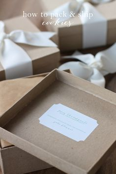 How to pack & ship cookies safely & beautifully! Get the best tips & tricks to mailing sweet treats for Christmas.