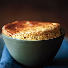 Cheese and Squash Souffles Recipe | MyRecipes.com
